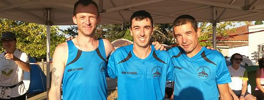 Le Mac 47 : trio composé de Lionel Van Kaam, Lionel Ozannne et Sébastien Teixeira vainqueurs en relais (80 km) à Villenave d'orion